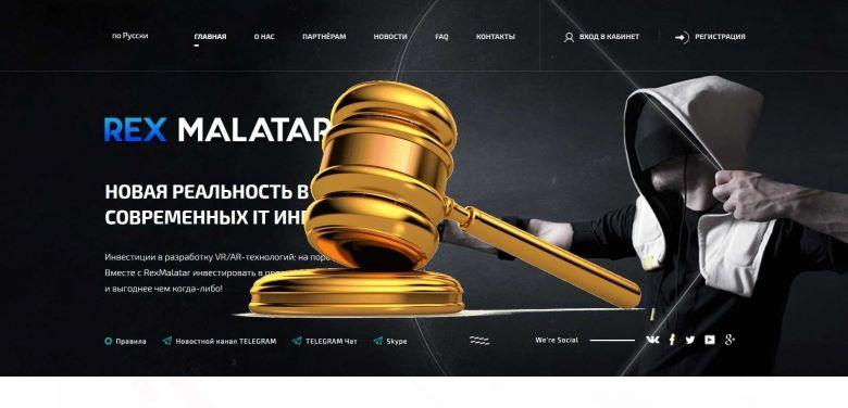 RexMalatar.org - SCAM! Compensation paid.