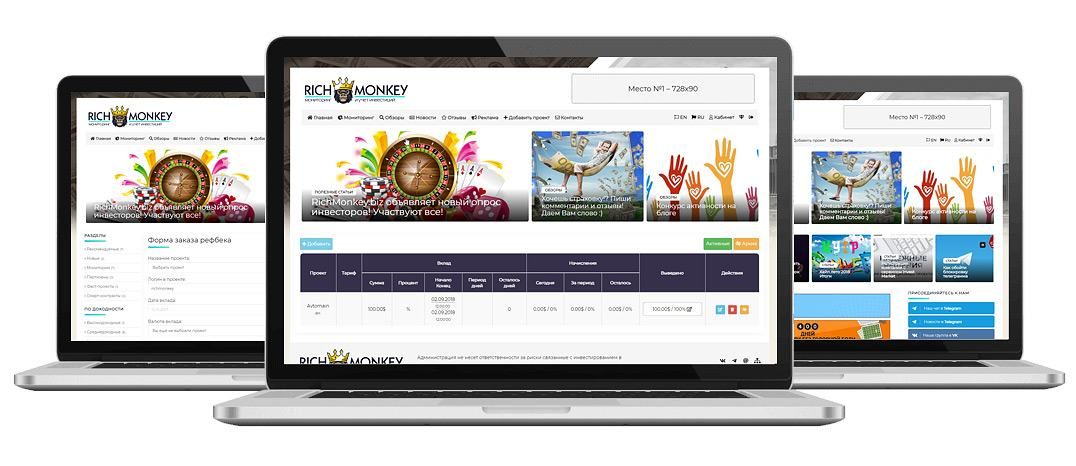 RichMonkey.biz - launch a universal investor panel!