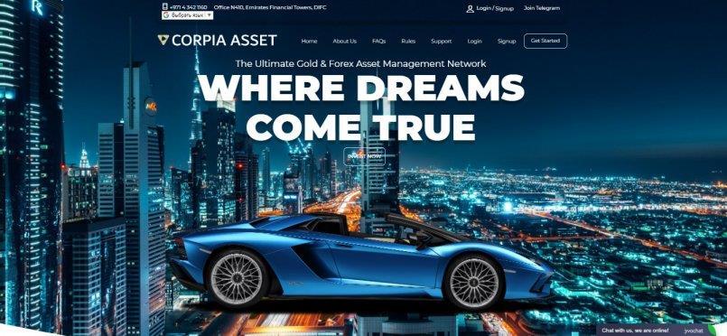 Corpia asset
