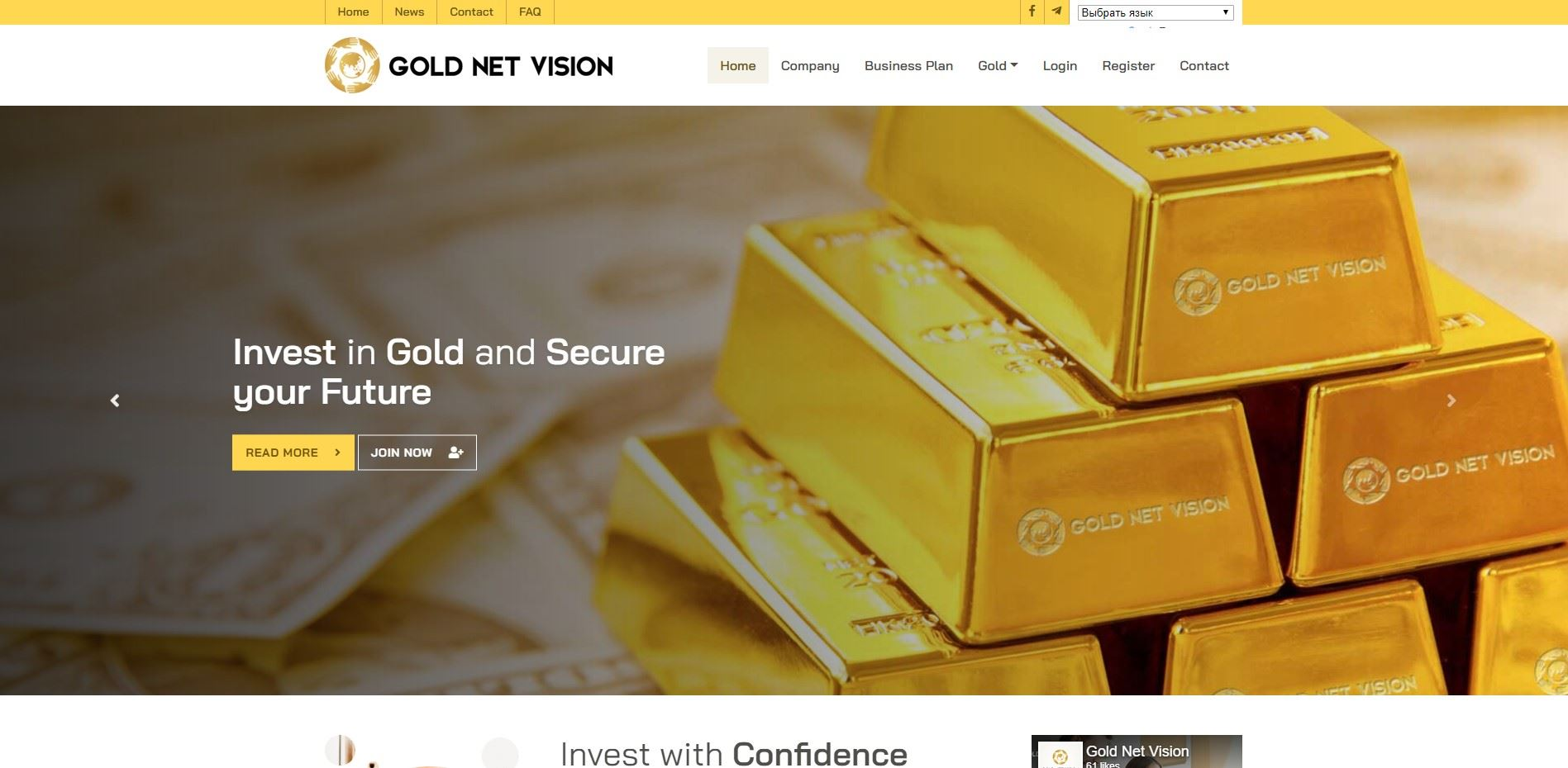 Gold net vision