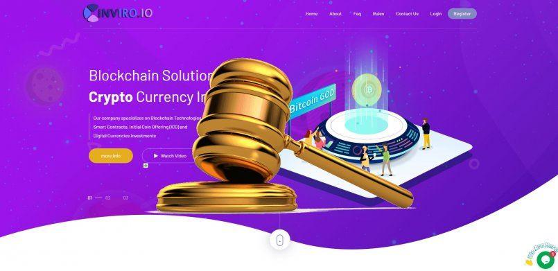 Inviro.io - scam! Compensation paid.