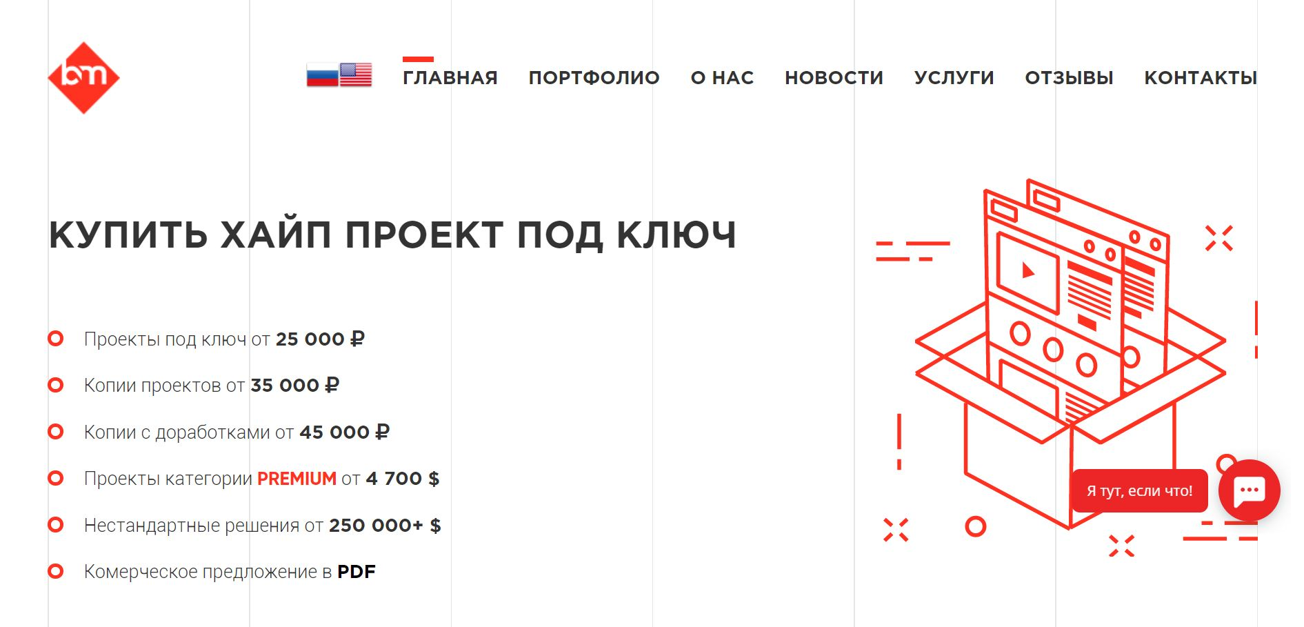 Blitz-market.ru - Review and review of turnkey HYIP web-studio