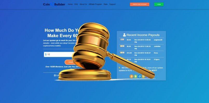 Coinbizbuilder.com - SCAM! Compensation paid.