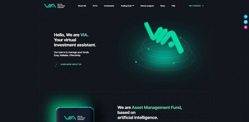 Review and recall of the Via Top project
