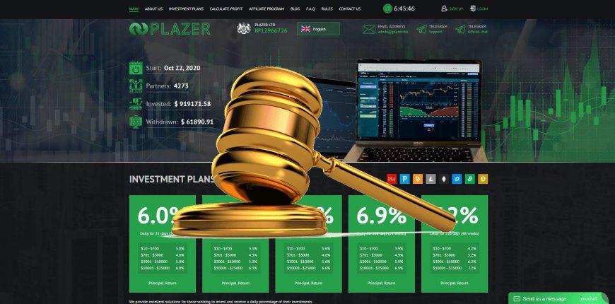 Plazer.biz - SCAM! Compensation paid.