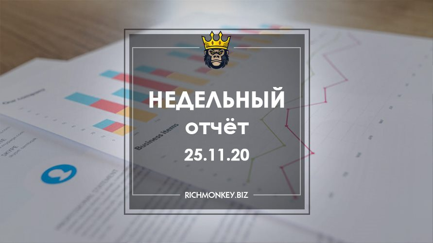Weekly Report 16.11.20 - 22.11.20