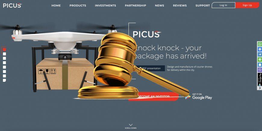Picus.biz - SCAM! Compensation paid.