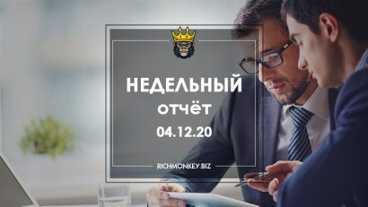 Weekly Report 23.11.20 - 29.11.20