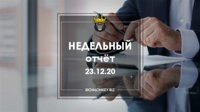 Weekly Report 14.12.20 - 20.12.20