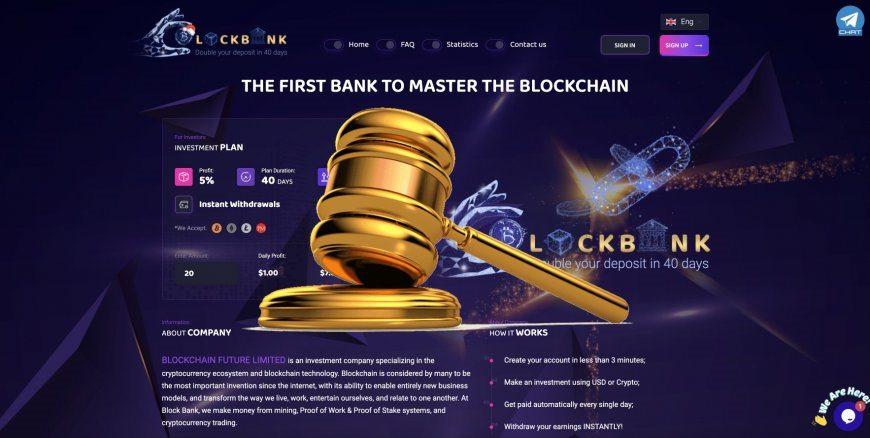 Block-bank.io - SCAM! Compensation paid.