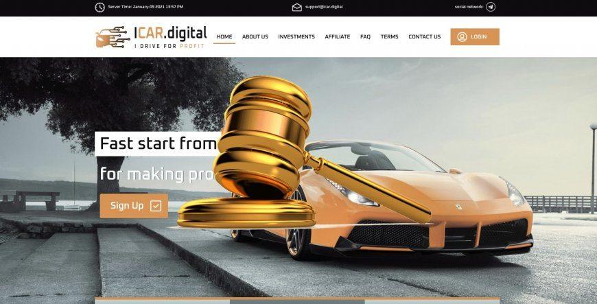 Icar.digital - SCAM! Compensation paid.