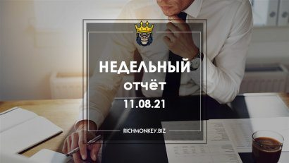 Weekly Report 02.08.21 - 08.08.21